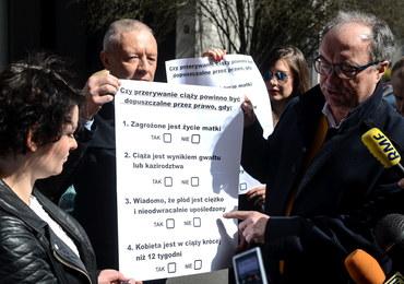 Lewica chce referendum ws. aborcji. Zaczyna zbiórkę podpisów