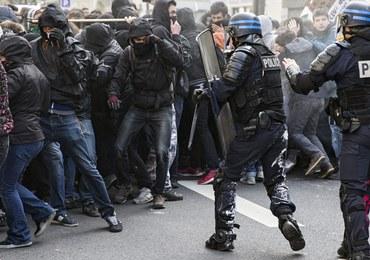 Starcia licealistów z policją w Paryżu, 130 aresztowanych