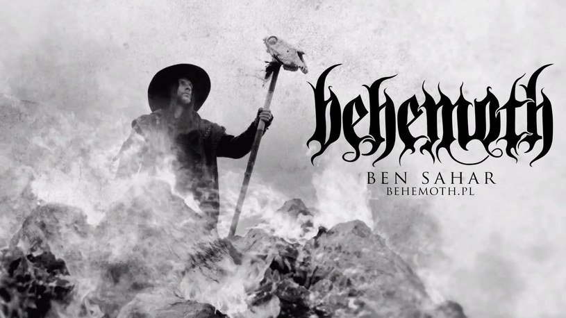 """Behemoth zaprezentował """"Ben Sahar"""", czwarty już teledysk z albumu """"The Satanist""""."""