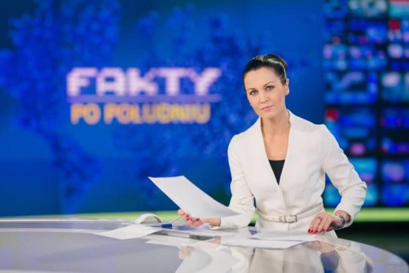 """Diana Rudnik zadebiutuje w sobotę, 9 kwietnia, jako prowadząca weekendowe wydanie programu """"Fakty po południu"""" na antenie TVN24."""