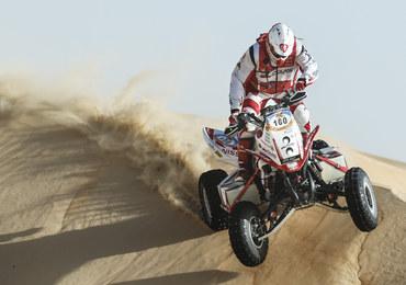 """Rafał Sonik o krok od triumfu w Abu Dhabi Desert Challenge. """"Pojadę jak z transportem jajek"""""""