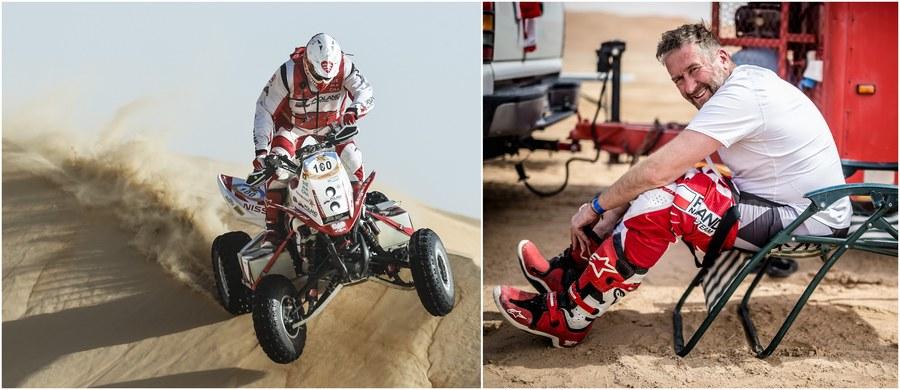 """Na drugiej pozycji dojechał do mety 4. etapu Abu Dhabi Desert Challenge Rafał Sonik. Szybszy był jedynie Chilijczyk Ignacio Casale, który z powodu wcześniejszej kary ma jednak olbrzymią stratę do Polaka. W tej chwili już tylko 235 km czwartkowego odcinka specjalnego dzieli Sonika od drugiego w karierze zwycięstwa w tym wyścigu. Najlepszy polski quadowiec nie zamierza więc ryzykować. """"Pojadę jutro jak z transportem jajek"""" - zapowiedział."""