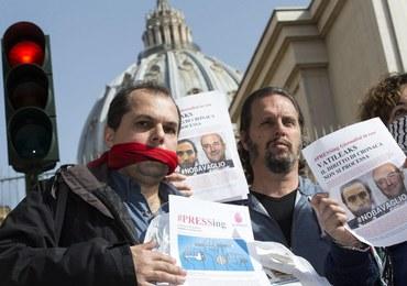 Afera Vatileaks: Wznowieniu procesu towarzyszyła pikieta obrońców wolności słowa