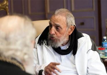 Fidel Castro pojawił się publicznie po raz pierwszy od... dziewięciu miesięcy