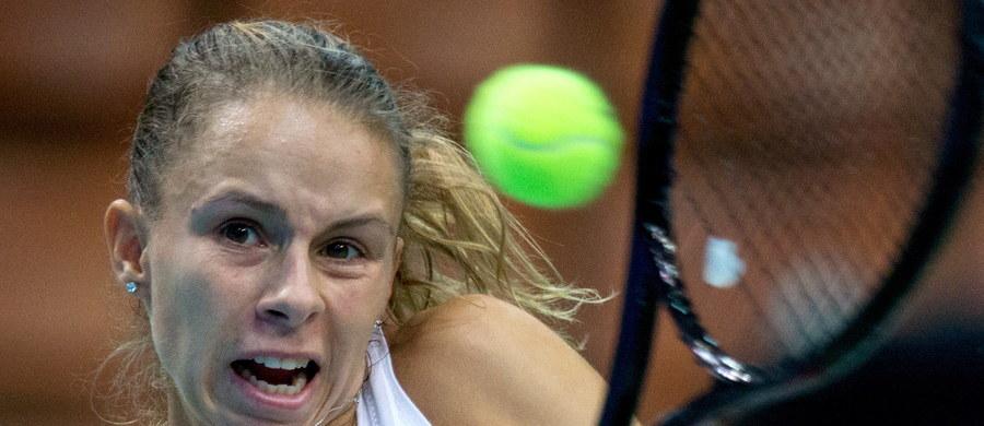 Magda Linette przegrała z francuską tenisistką Pauline Parmentier 2:6, 4:6 w ćwierćfinale turnieju WTA Tour w katowickim Spodku. Poznanianka była ostatnią Polką w stawce w grze pojedynczej.