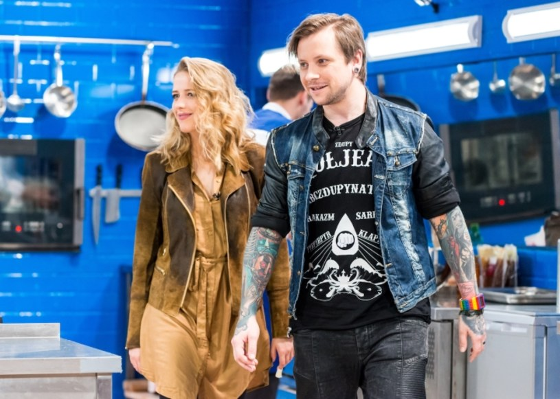 """Jessica Mercedes oraz Maciej Dąbrowski - założyciel kanału """"Z dupy"""", już w najbliższy wtorek w """"Hell's Kitchen"""". Czy to będzie najbardziej kontrowersyjny odcinek piątej edycji programu?"""