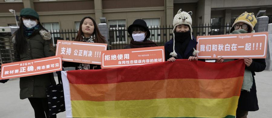 Sąd w chińskim mieście Changsha (Czangsza) wypowiedział się przeciwko możliwości udzielenia ślubu parze homoseksualnej. Wcześniej wydania certyfikatu potwierdzającego związek odmówił gejom urząd stanu cywilnego.