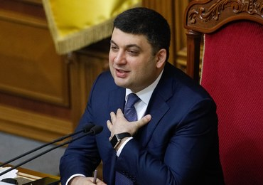 Ukraina: Parlament zatwierdził Hrojsmana na stanowisku premiera