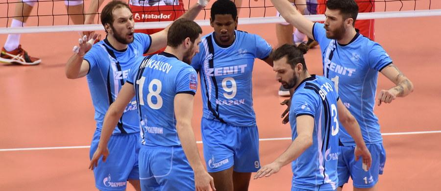 Siatkarze Asseco Resovii Rzeszów po porażce z Zenitem Kazań 1:3 zagrają o trzecie miejsce w Final Four Ligi Mistrzów.