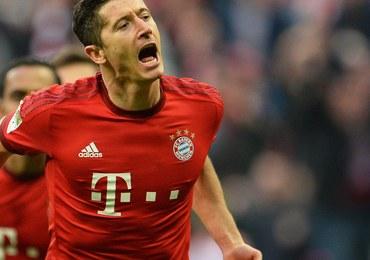 Robert Lewandowski strzelił dwa gole w wygranym meczu Bayernu