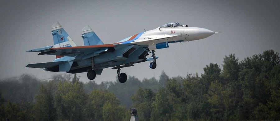 Rosyjskie siły powietrzne znów prowokują. Jak ujawniło dowództwo amerykańskich sił w Europie, w czwartek myśliwiec Su-27 zbliżył się do amerykańskiego samolotu rozpoznawczego RC-135.