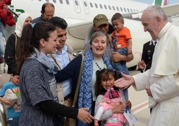 Papież po spotkaniu z uchodźcami: Widziałem tyle bólu