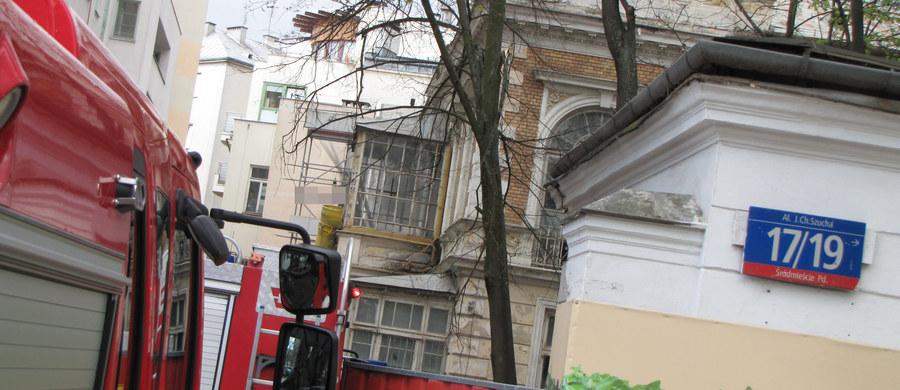 Śmiertelny wypadek przy Alei Szucha w Warszawie, na wprost gmachu Trybunału Konstytucyjnego. Zawaliła się tam ściana w piwnicy. Spod gruzów wyciągnięto jedną osobę. Niestety, robotnika nie udało się uratować.