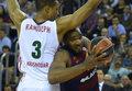 Euroliga koszykarzy: Lokomotiw wygrał w Barcelonie