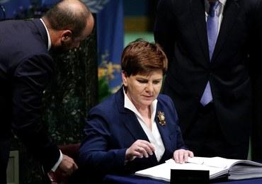 Premier Beata Szydło: Polska orędownikiem rozwiązań służących ochronie klimatu