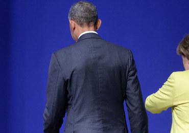 Obama chwali odwagę Merkel w kryzysie migracyjnym