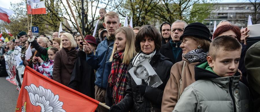 """Piękną twarz Polski mogliśmy obserwować podczas niedzielnych uroczystości pogrzebowych majora Zygmunta Szendzielarza-""""Łupaszki""""."""