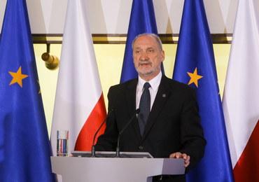 Macierewicz: Polska armia będzie silna, będzie częścią skutecznie działającego Sojuszu