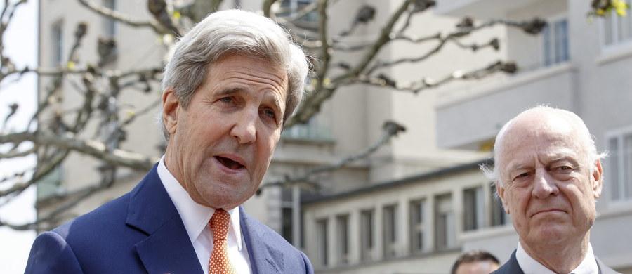 Sytuacja w Syrii zaczyna wymykać się spod kontroli - ostrzegł amerykański sekretarz stanu John Kerry, który w poniedziałek odbył serię rozmów mających przyczynić się do uratowania zawieszenia broni w konflikcie syryjskim.