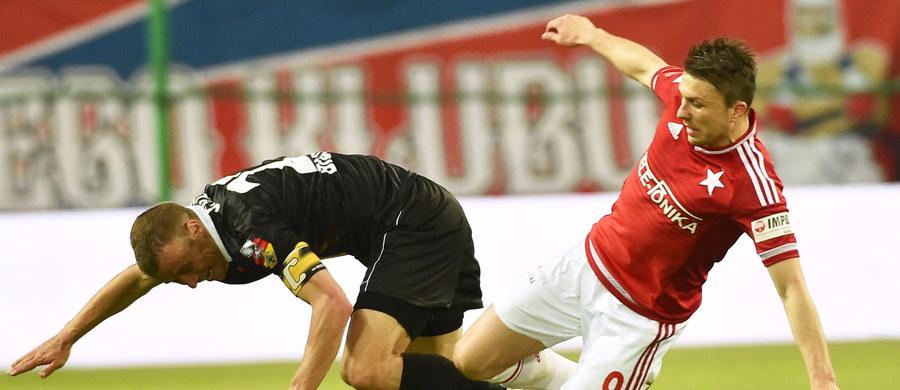 Piłkarze Wisły Kraków pokonali w piątkowym meczu na swoim stadionie Jagiellonię Białystok 1:0. Wiślacy objęli prowadzenie w 25 minucie.
