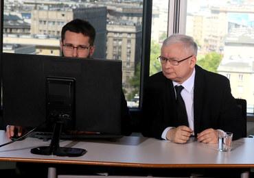 """Jarosław Kaczyński odpowiada na pytania internautów. """"Protesty to wynik niezadowolenia z wyborów"""""""