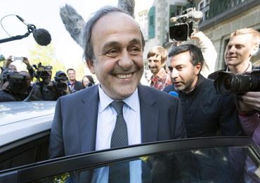 Platini rezygnuje z kierowania UEFA