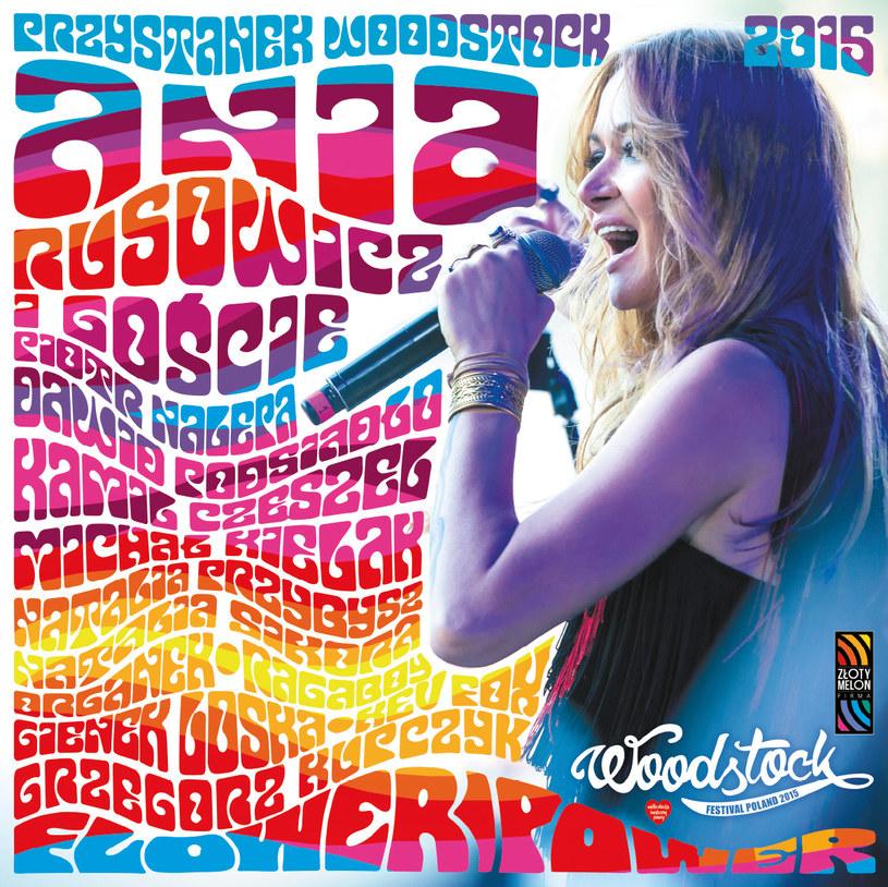 """Pół roku po premierze płyty CD/DVD, na podwójnym winylu ukazuje się """"Flower Power"""" - zapis wyjątkowego koncertu Ani Rusowicz i jej gości z Przystanku Woodstock 2015."""