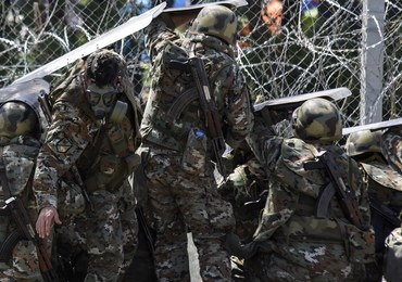 Blisko stu polskich pograniczników patroluje granice w Grecji, Macedonii i Bułgarii
