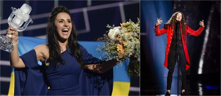 Reprezentantka Ukrainy Jamala wygrała 61. Konkurs Piosenki Eurowizji! 8. miejsce zajął reprezentujący Polskę Michał Szpak. Co ciekawe, po głosowaniu jurorów nasz wokalista miał na koncie zaledwie 7 punktów, ale - jak się okazało - podbił serca telewidzów! W ich głosowaniu zajął 3. miejsce, ustępując jedynie Jamali i reprezentantowi Rosji Siergiejowi Łazariewowi. Zobaczcie występy Michała Szpaka i wykonawców, którzy stanęli na podium!