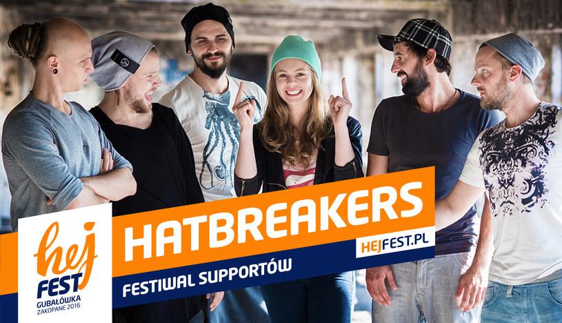 Poznaj uczestników Festiwalu Supportów w ramach Hej Fest, którego zwycięzcy 11 września zagrają na finałowym koncercie przed grupą LemON. Przed wami zespół Hatbreakers.