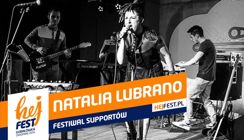 Poznaj uczestników Festiwalu Supportów w ramach Hej Fest, którego zwycięzcy 11 września zagrają na finałowym koncercie przed grupą LemON. Przed wami Natalia Lubrano.