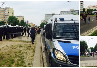 Kolejne starcia przed wrocławskim komisariatem policji, w którym zmarł 25-letni Igor S.