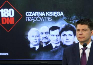 """Nowoczesna przedstawiła """"Czarną Księgę rządów PiS"""". Petru: Te pół roku to czas chaosu"""