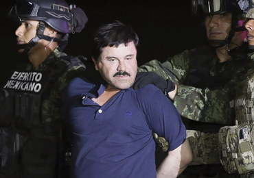"""Meksyk wydał zgodę na ekstradycję """"El Chapo"""" do USA"""