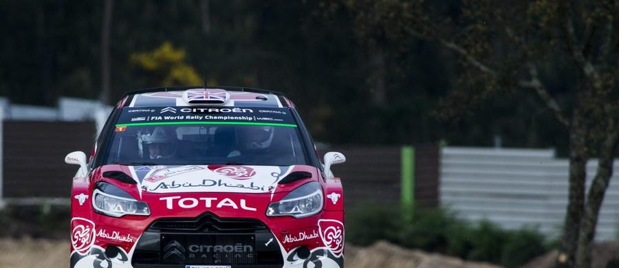 Brytyjczyk Kris Meeke (Citroen DS3 WRC) prowadzi po dziewięciu odcinkach specjalnych w Rajdzie Portugalii, 5. rundzie samochodowych mistrzostw świata. Broniący tytułu Sebastien Ogier (VW Polo WRC) jest drugi ze stratą 31,9 s.
