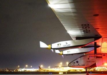 Kolejny etap podróży samolotu solarnego. Potrwa 18 godzin