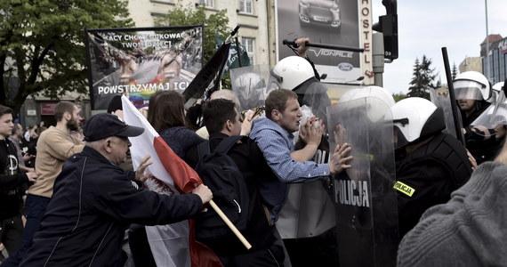 Do przepychanek doszło na trasie Marszu Równości w Gdańsku. Grupa, która wyruszyła z Targu Węglowego, została zablokowana przez kontrmanifestantów - grupy działaczy środowisk narodowych. Policja zatrzymała na razie pięć osób.