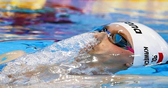 Radosław Kawęcki (AZS AWF Warszawa) zdobył w Londynie złoty medal pływackich mistrzostw Europy na 200 m stylem grzbietowym. To jego trzeci z rzędu triumf na tym dystansie w imprezie tej rangi. Wcześniej nasz inny reprezentant - Konrad Czerniak (AZS AWF Katowice) - wywalczył srebro w pływaniu na 100 m stylem motylkowym. O setną sekundy od medalu w stylu dowolnym była sztafeta mężczyzn 4x200 m.