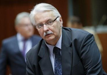 Witold Waszczykowski: O to nam chodziło, żeby UE dała szansę na rozmowy