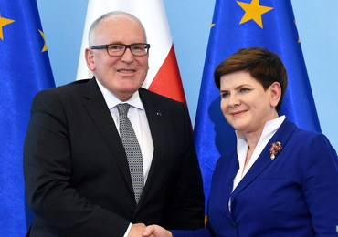 Timmermans obiecał Szydło, że nie podejmie żadnych kroków wobec Polski. Czy dotrzyma słowa?