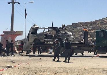 Samobójczy zamach w Kabulu. Celem ataku byli pracownicy sądu