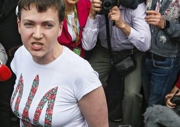 Nadia Sawczenko po powrocie na Ukrainę: Przepraszam, że wróciłam żywa
