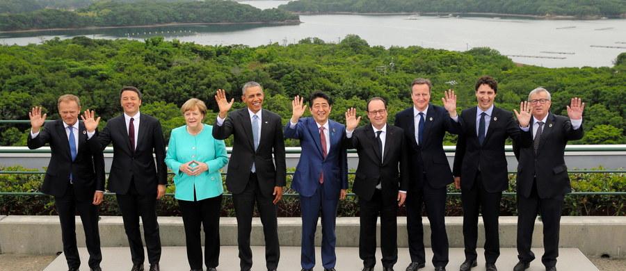 Przywódcy państw G7 wyrazili obawę o przeszłość gospodarek wschodzących – poinformował przedstawiciel Japonii, która jest gospodarzem szczytu członków grupy. Spowolnienie gospodarcze w tych państwach odbija się na światowej gospodarce - dodał.
