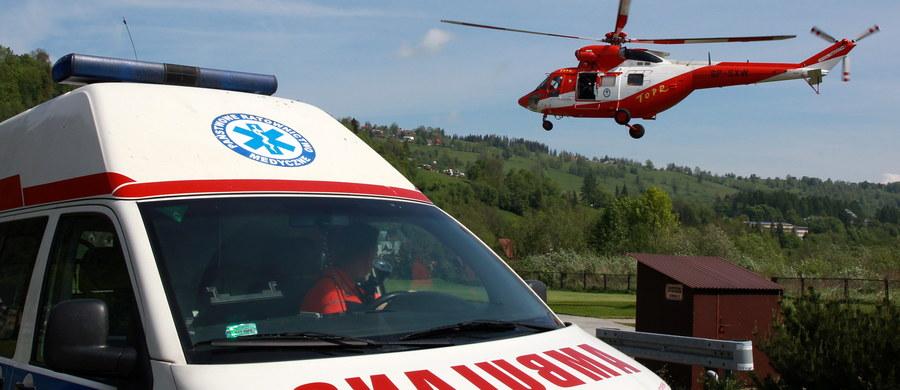 Trzy kolejne wypadki w Tatrach. Jak donosi reporter RMF FM Maciej Pałahicki, do wszystkich doszło w rejonie Buli pod Rysami. Wcześniej ratownicy odnaleźli ciało turysty poniżej Orlej Perci.