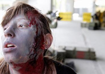 Zombie opanowały stadion w Zabrzu. Panuje klimat grozy i survivalu