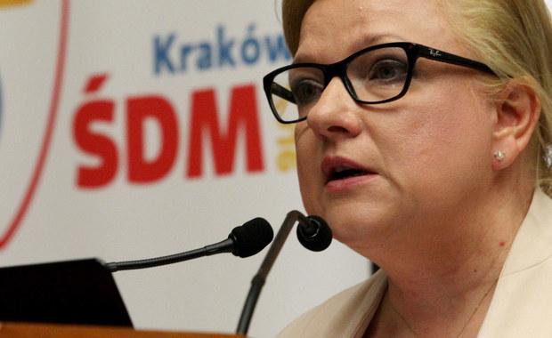 """""""Nikt nie chce wojny z Komisją Europejską czy z innym organami UE"""" – mówiła dziennikarzom szefowa Kancelarii Premiera Beata Kempa. Jak zaznaczyła, jeśli wobec Polski zostanie wdrożona procedura ochrony praworządności, trzeba będzie ocenić, czy została wdrożona przez organ do tego uprawniony."""