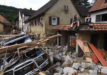 """Niemcy usuwają skutki nawałnic. Władze mówią o """"kataklizmie"""""""