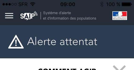 Specjalna, rządowa aplikacja na smartfony i tablety będzie uprzedzać kibiców o potencjalnym zagrożeniu terrorystycznym w czasie Euro 2016. W razie zamachu pojawią się na wyświetlaczach telefonów wszelkie niezbędne informacje.