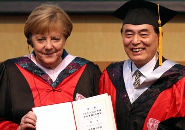 Merkel apeluje do władz w Pekinie o umocnienie praworządności