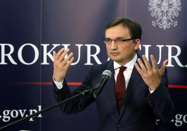 Ziobro: Krakowska prokuratura zbada sprawę nacisków na media za rządów PO-PSL